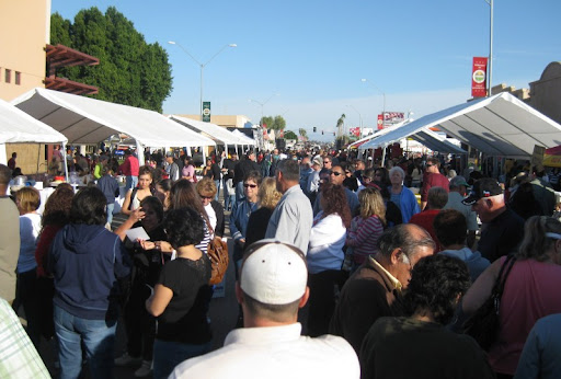 Crowd at the Somerton Tamale Festival