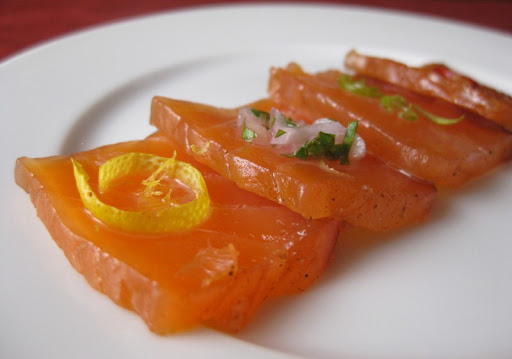 Cured Salmon Four Ways