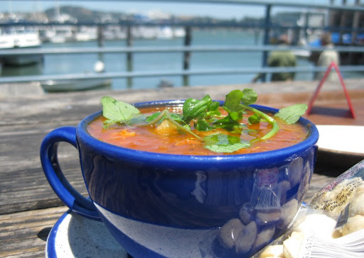 Portuguese Red Chowder at Fish