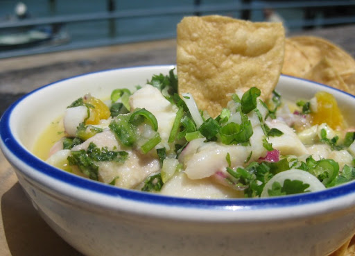 Ceviche at Fish