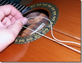 020 Cambio de cuerdas 2