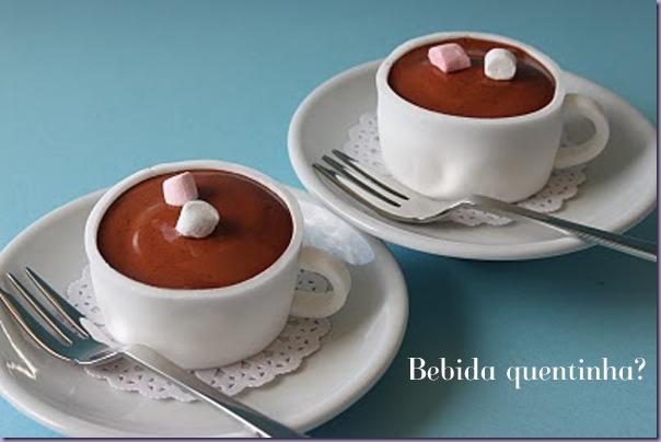 Xícaras-Chocolate-Quente-Cupcakes