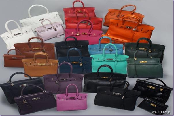 Hermès-Birkin-Kelly-Bolsas-Cores