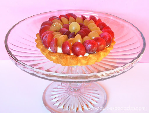 tarta a las dos uvas