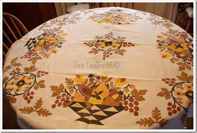 harvest table cloth