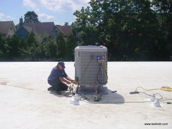 "HybridHeat Split system instead of a ""Rooftop"""