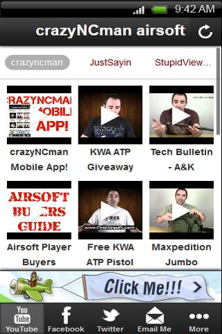 Airsoft Reviews By crazyNCman