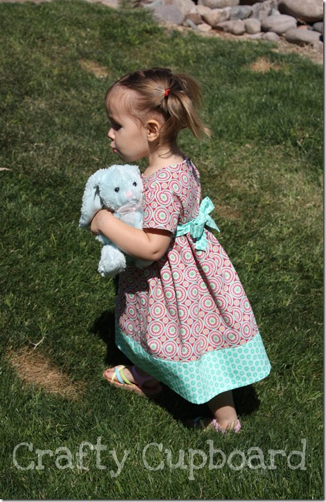 Easter Dress Side