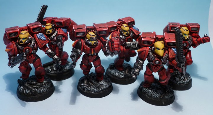 Blood Angels Escouade Assaut