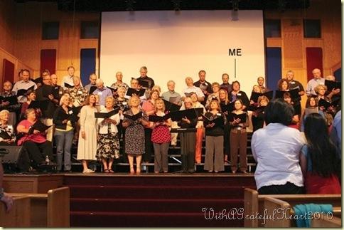 Choir - Me