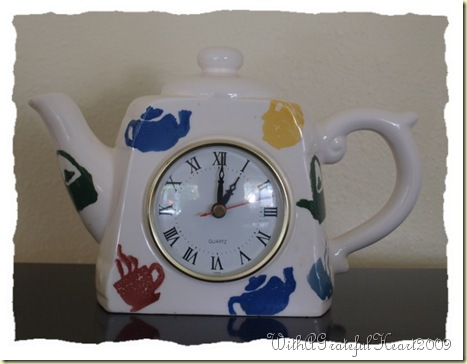 Teapot Clock
