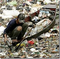 Plástico en ríos