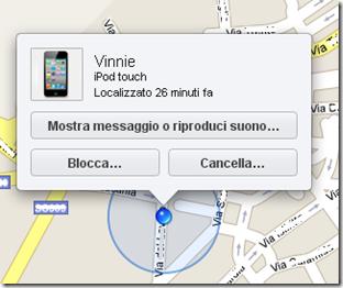 Localizzare e bloccare il proprio iPod Touch, iPhone e iPad rubato o perso