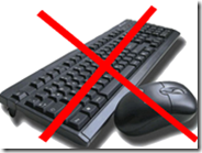 Bloccare mouse e tastiera