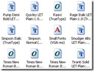 Come installare nuovi font e caratteri di testo su Windows XP, Vista e 7