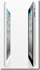 iPad 2 è più sottile