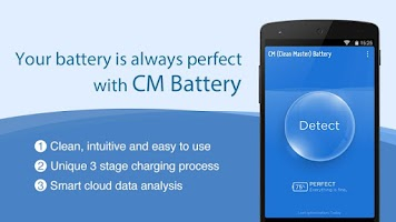 Screenshot of CM Battery