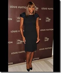 Serena Williams in Louis Vuitto