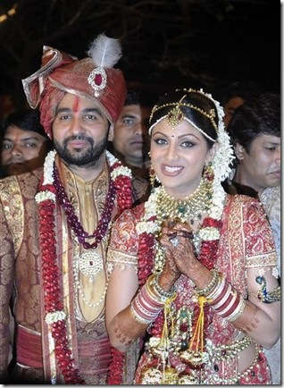 Shilpa Shetty Marraige Photos with Raj Kundra