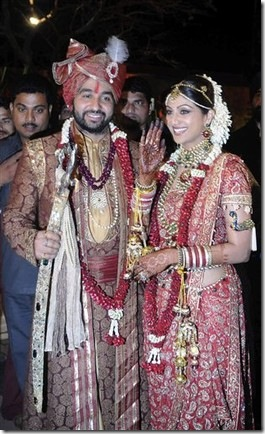 Shilpa Shetty Wedding Pictures with Raj Kundra