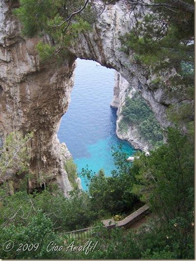 Ciao Amalfi Coast Blog Arco Naturale Above