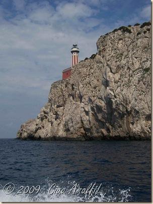 Ciao Amalfi Coast Blog Capri Faro