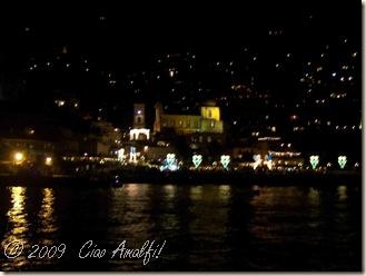 Ciao Amalfi Coast Blog Positano Night