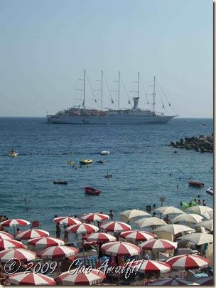Ciao Amalfi Coast Blog Windsurf in Amalfi