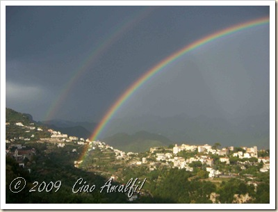 Ciao Amalfi Coast Blog Rainbow Ravello2