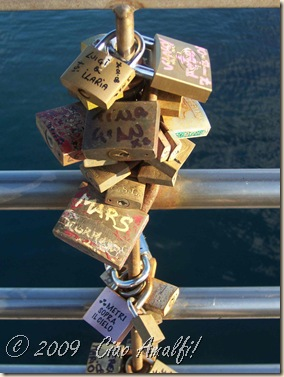 Ciao Amalfi Coast Blog Love Locks 3