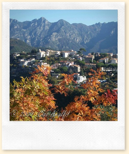 Ciao Amalfi Coast Blog Autumn Colors Ravello