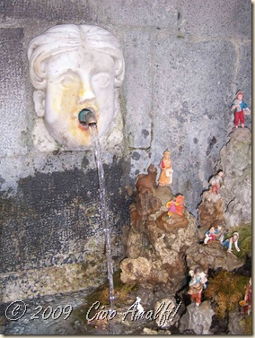 Ciao Amalfi Coast Blog Fountain Presepe 3