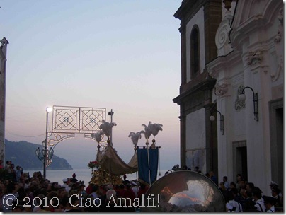 Ciao Amalfi Coast Blog Atrani Procession