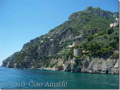 Ciao Amalfi Coast Blog Positano Toward Fornillo