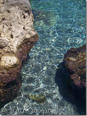 Ciao Amalfi Coast Blog Santa Croce Incredible water