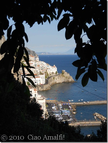 Ciao Amalfi View from Grand Hotel Convento di Amalfi