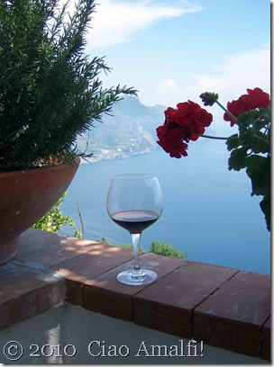 Ciao Amalfi Blog Mamma Agata Wine Glass