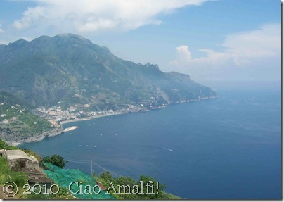 Ciao Amalfi Blog Mamma Agata View