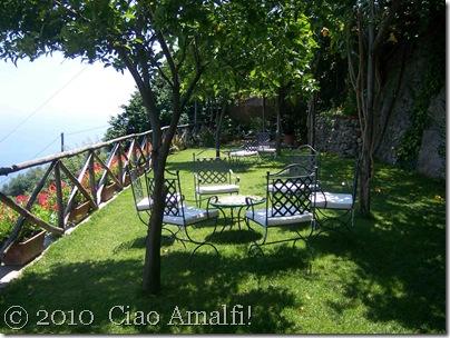 Ciao Amalfi Blog Mamma Agata Grassy terrace