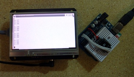 BeagleTouch Accelerometer