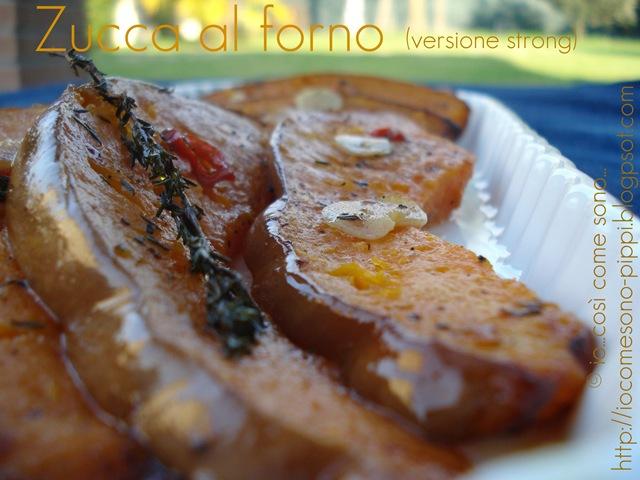 Zucca al forno (versione strong)
