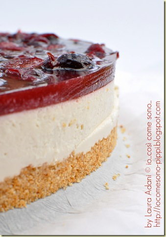 Cheese cake alle ciliegie3