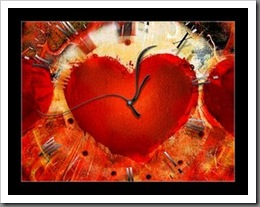 corazon reloj