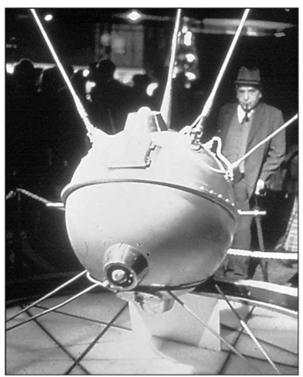 Sputnik, launched by the Soviet Union on October 4, 1957, was the first artificial satellite to orbit Earth.
