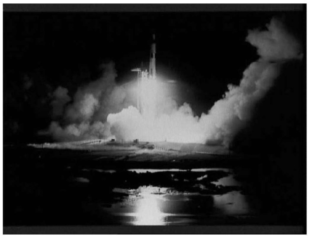 Night launch of the Saturn V rocket carrying the Apollo 17 Mission to the Moon at 12:40 a.m., 7 December 1972 (courtesy of NASA). This figure is available in full color at http://www.mrw.interscience.wiley.com/esst.