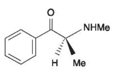 Methcathinone. Reprinted from Valter K, Arrizabalaga P (1998) Designer Drugs Directorywith permission from Elsevier Science.