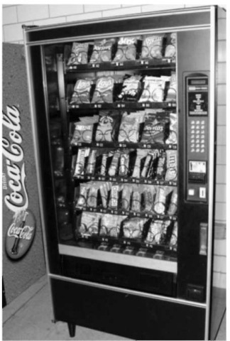 Vending machine.