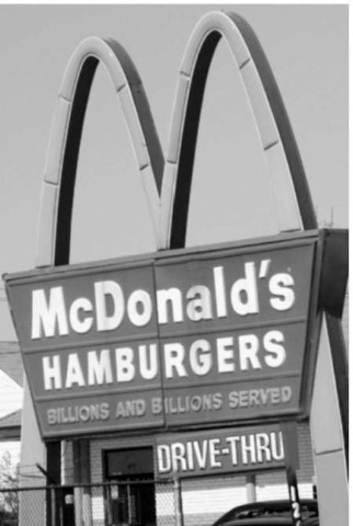 The golden arches.