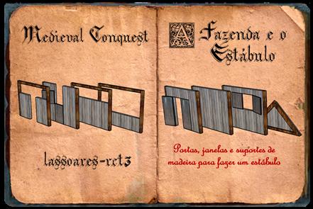 Medieval Conquest - fazenda e estábulo II (lassoares-rct3)