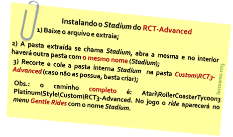 Instalando o Stadium do RCT-Advanced (lassoares-rct3)